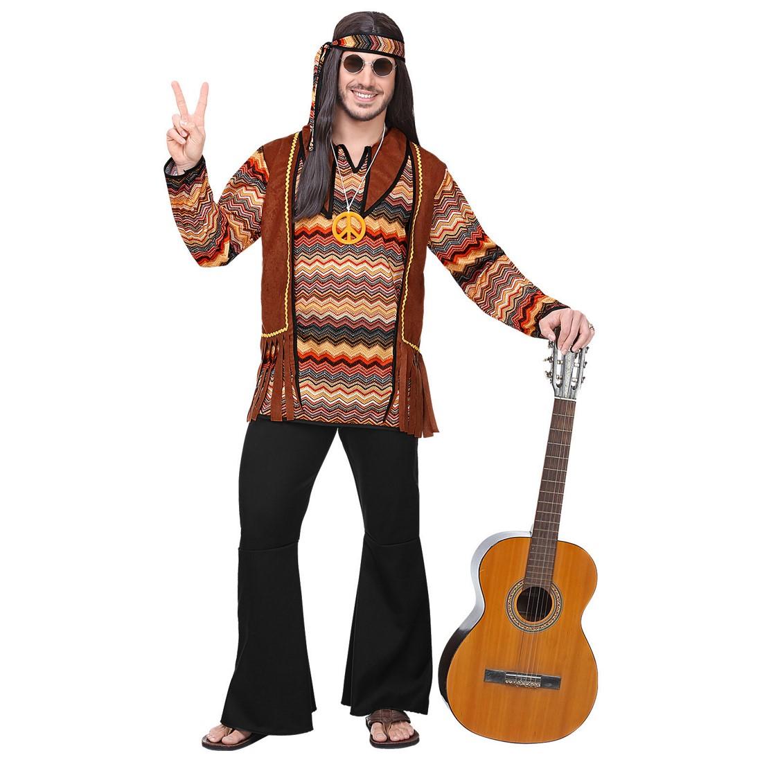 Disfraz Hippie tierra para hombre
