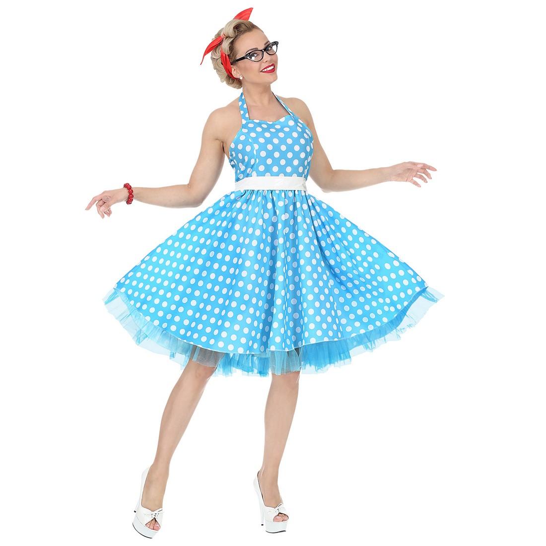 Disfraz Moda 50´s lunares para mujer
