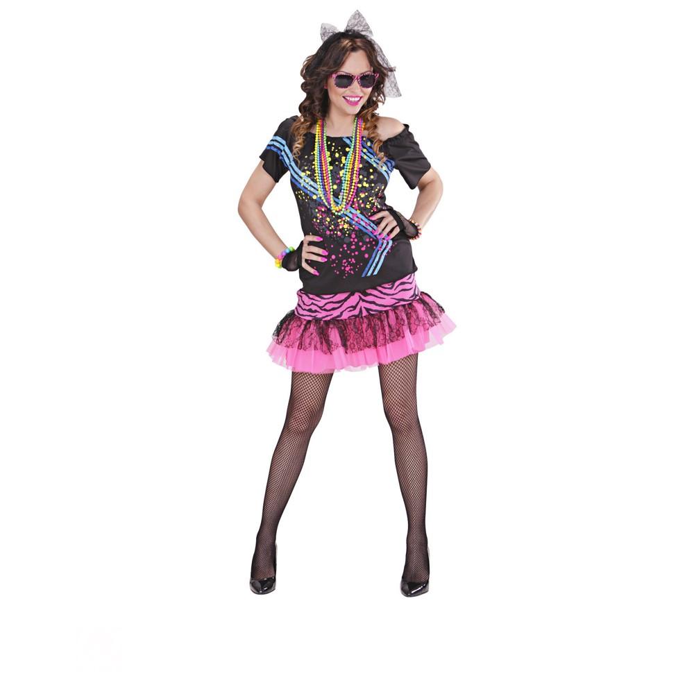 Disfraz Rockera 80s para mujer