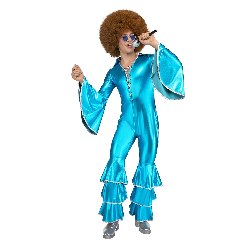 Disfraz de Disco Azul para hombre