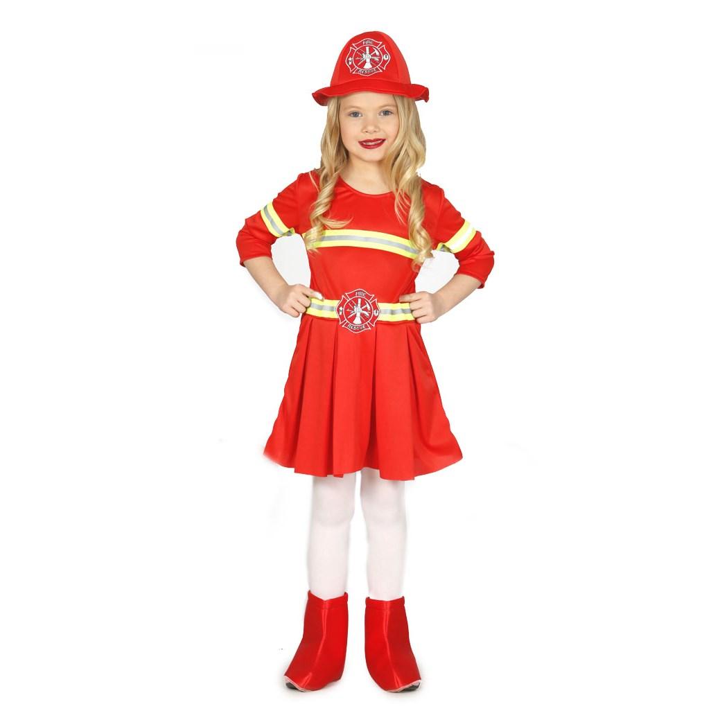 Disfraz Bombera para niña