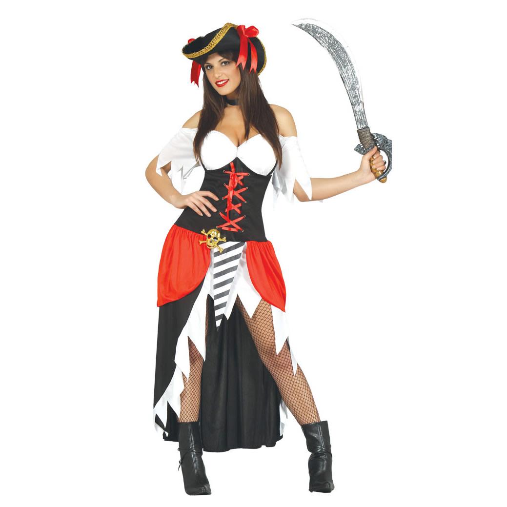 Disfraz Pirata Bucanera para mujer
