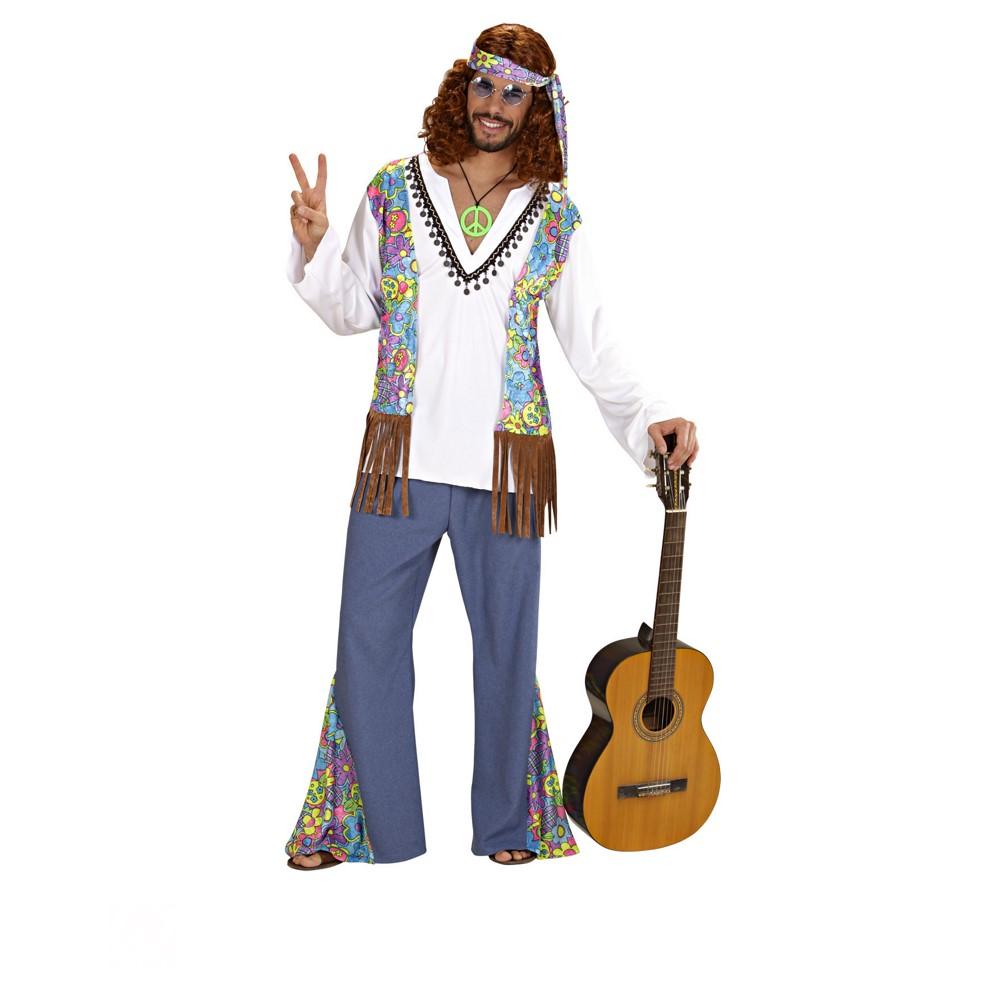 Disfraz Woodstock Hippie para hombre