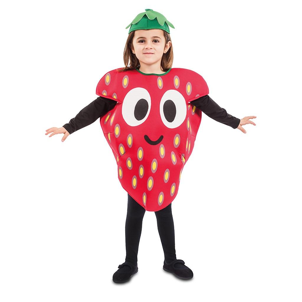 Disfraz de Fresa Feliz para niños