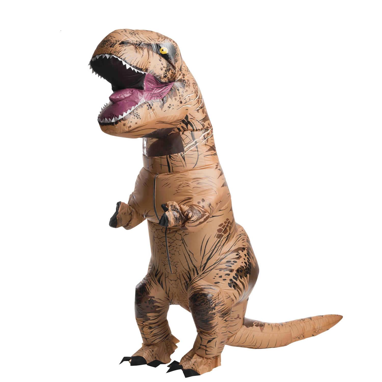 Disfraz hinchable T-Rex para adultos ©