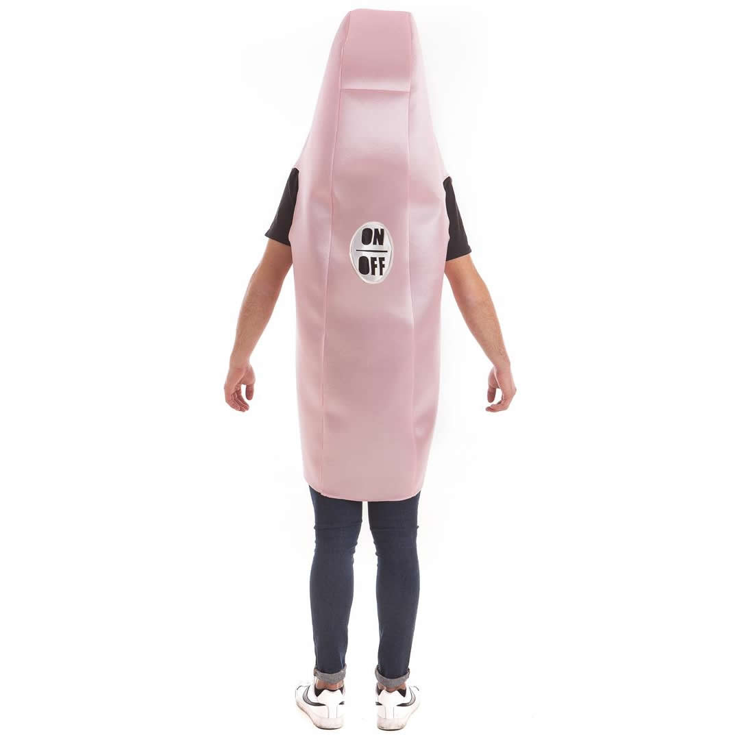 Disfraz de succionador de clítoris por detrás